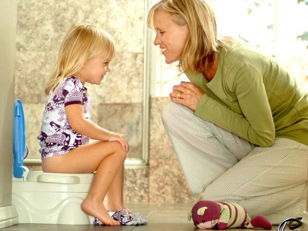 Приучение ребенка к горшку